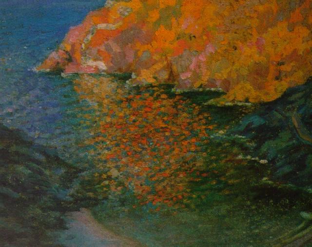 1920_15_Small Rocky Bay of Nans (CadaquNs), 1920-21