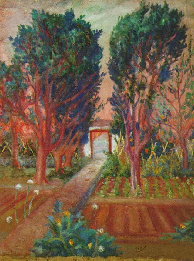 1920_16_The Vegetable Garden of Llaner, 1920