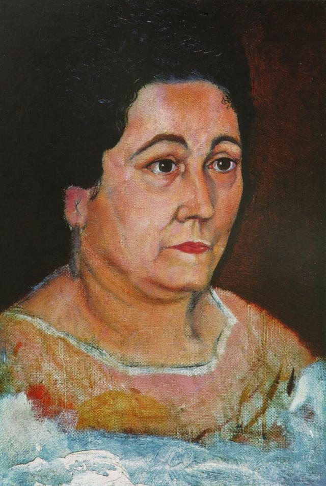 1920_25_Portrait of the Artist's Mother, Dofia Felipa Dome Domenech De, DalH, 1920