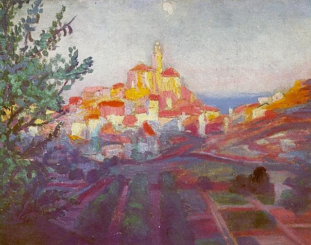 1921_01_Back View of CadaquNs, 1921