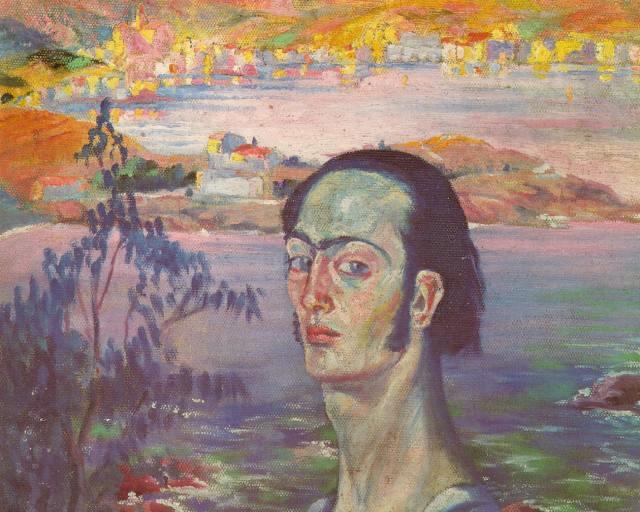 1921_03_Self-portrait with the Neck of Raphael, circa 1921