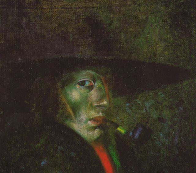 1921_04_Self-portrait (Figueres), 1921