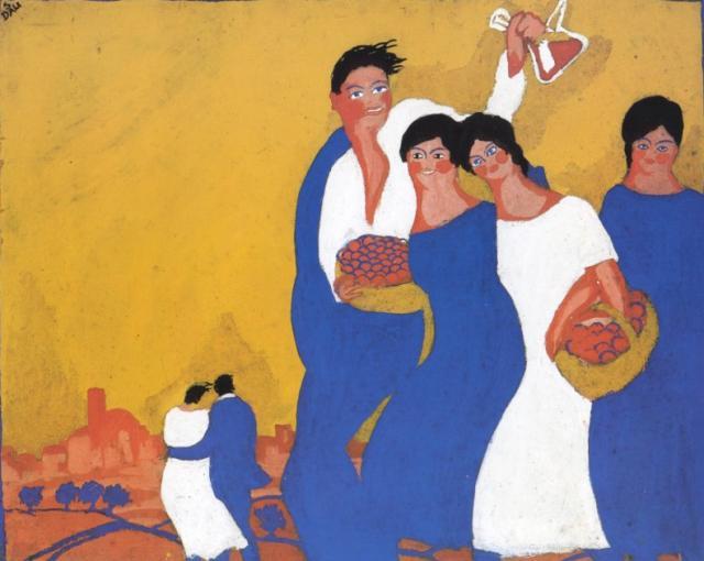 1921_09_Poster_ Fieres i Festes de la Santa Creu, 1921