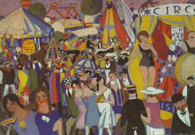 1921_14_Fair of the Holy Cross - The Circus, 1921