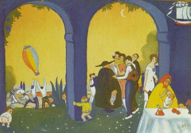 1921_23_Festival in Figueras, 1921