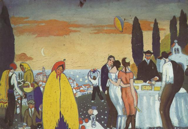 1921_24_Festival at San Sebastian, 1921