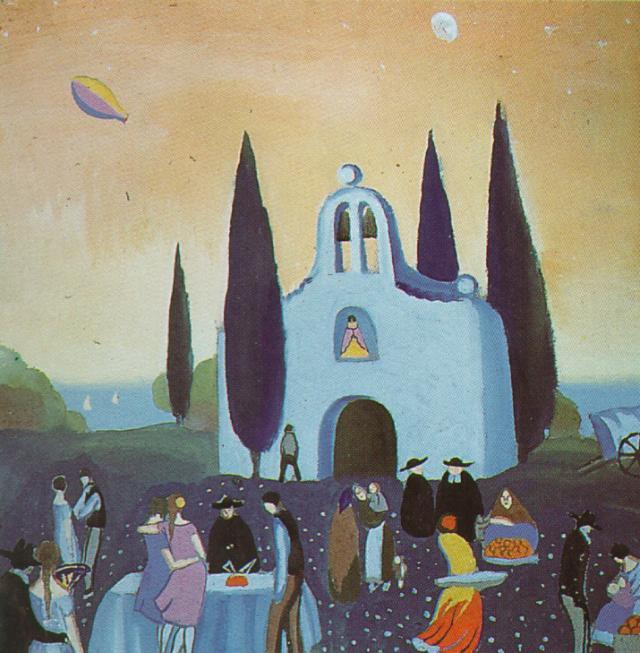 1921_28_Romeria - Pilgrimage, 1921