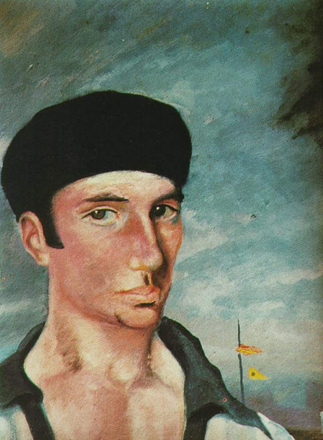 1921_31_Portrait Ofjaume Miravidles, 1921-22