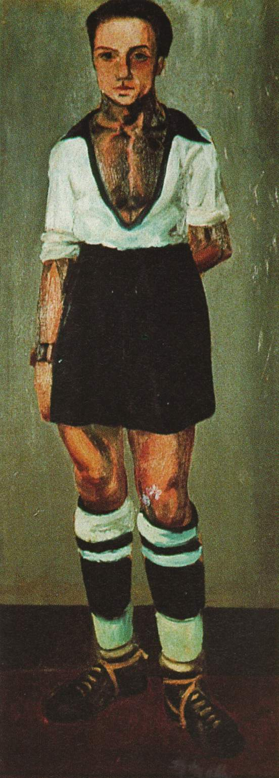 1921_32_Portrait of Jaume Miravidles as a Footballer, 1921-22