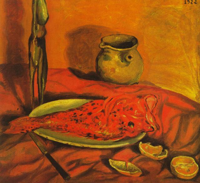 1922_01_Still Life (Pulpo y scorpa), 1922