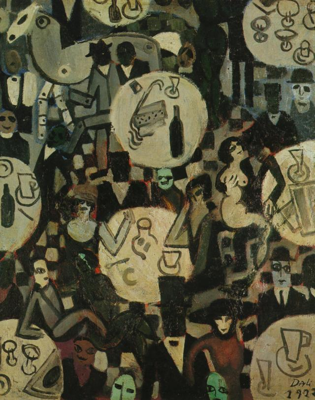 1922_06_Cabaret Scene, 1922