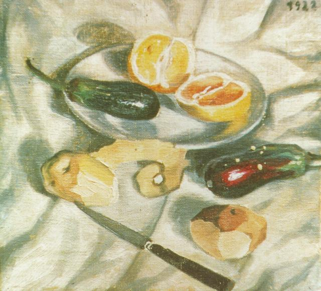 1922_19_Still Life with Aubergines, 1922