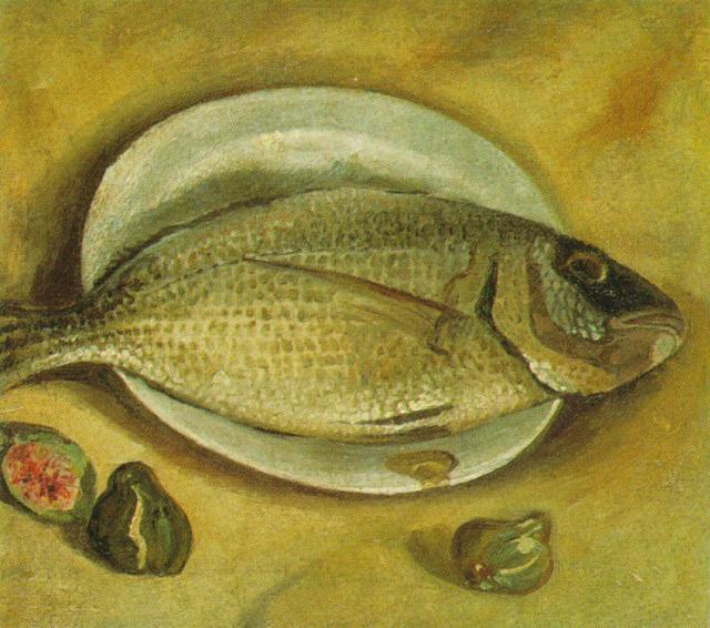 1922_21_Still Life - Fish, 1922