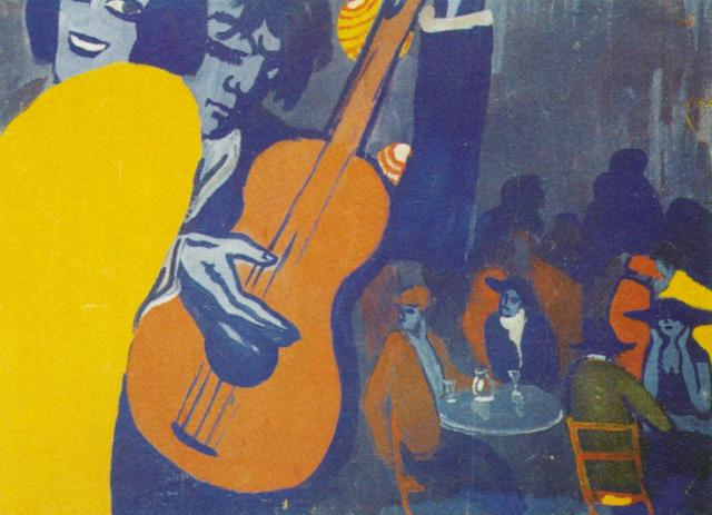 1922_23_Untitled - Scene in a Cabaret in Madrid, 1922