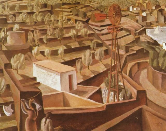 1923_04_El Moli - Landscape Near CadaquNs, 1923