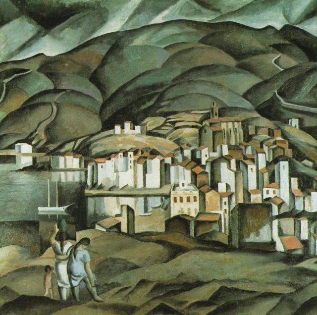 1923_11_CadaquNs (Seen from the Tower of Creus), 1923