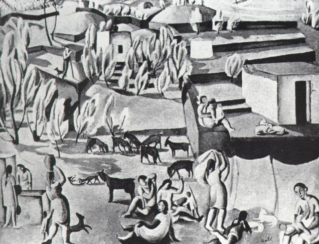 1923_24_Landscape Near CadaquNs, 1923