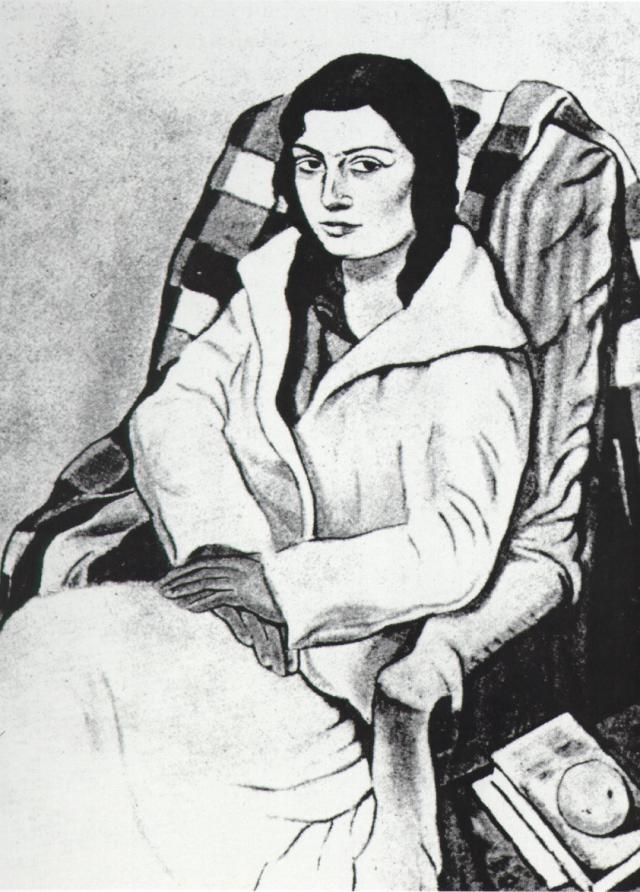 1923_35_Portrait of My Sister (original State), 1923-24