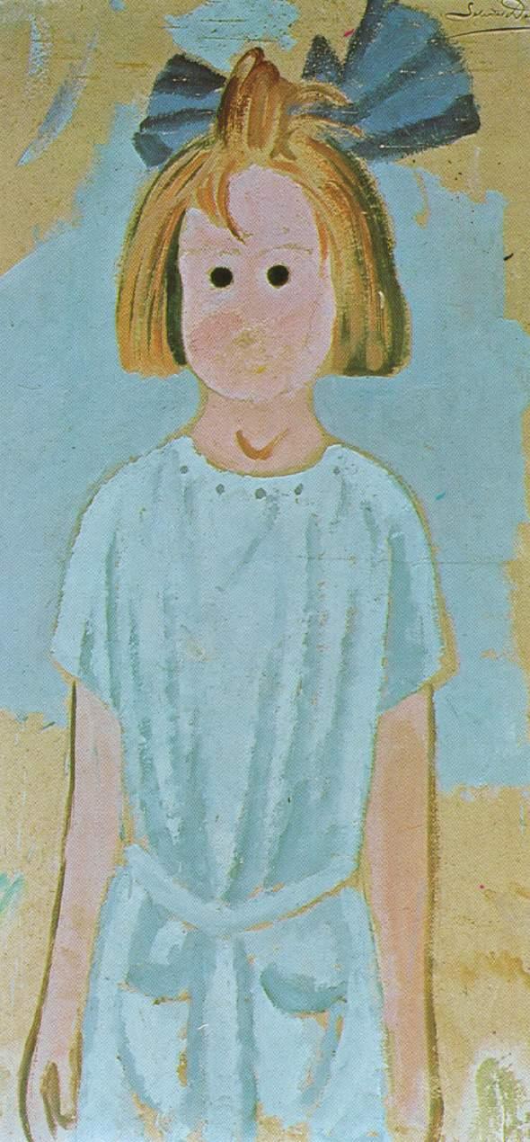 1923_36_Portrait of My Cousin Ana, Maria Domenech, circa 1923