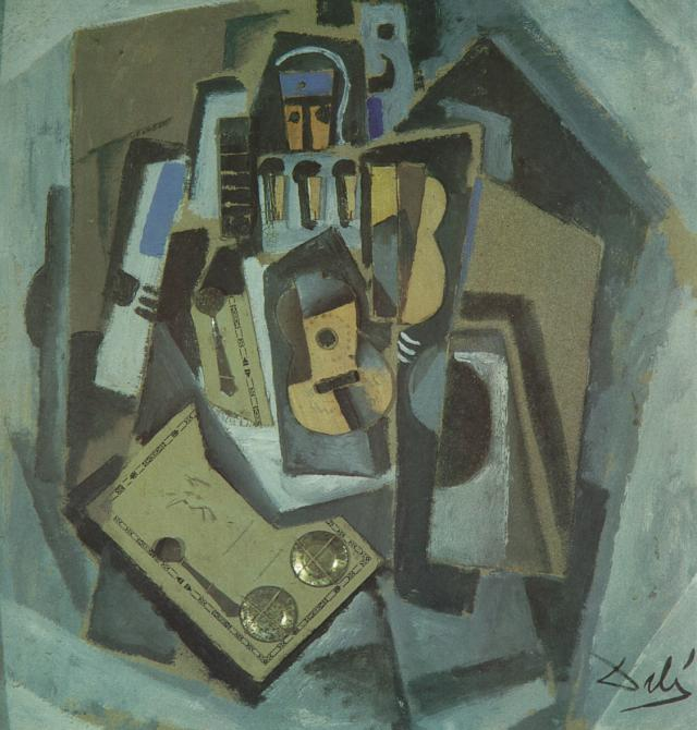 1924_16_Pierrot and Guitar, 1924