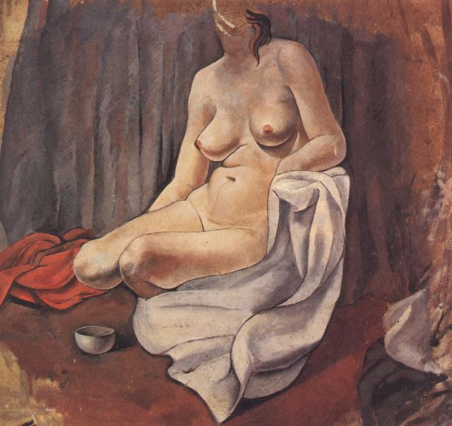 1925_01_Female Nude, 1925