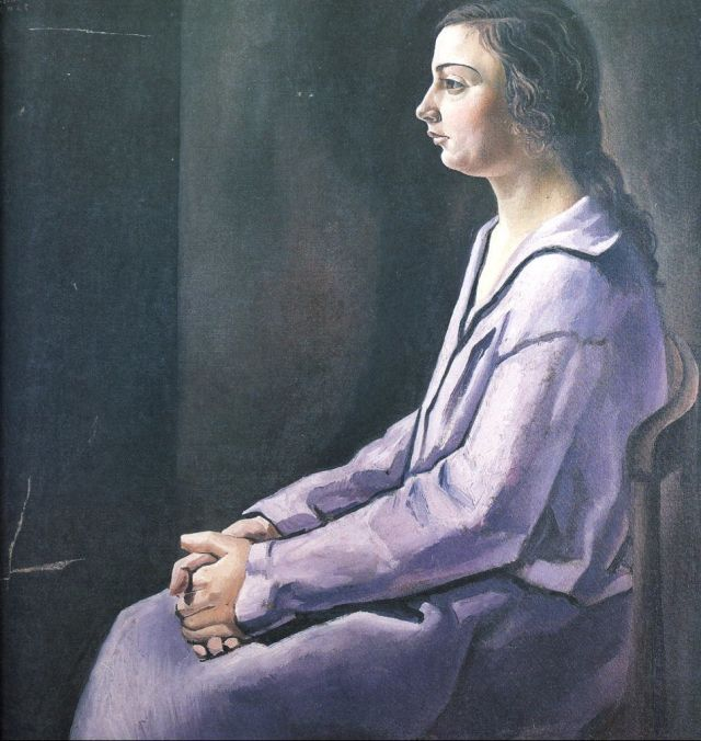 1925_08_Portrait of Ana Maria (CadaquNs), circa 1925