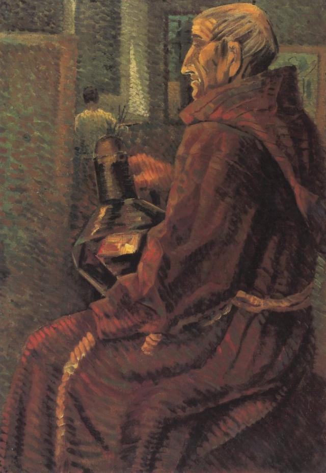 1925_15_Seated Monk, 1925