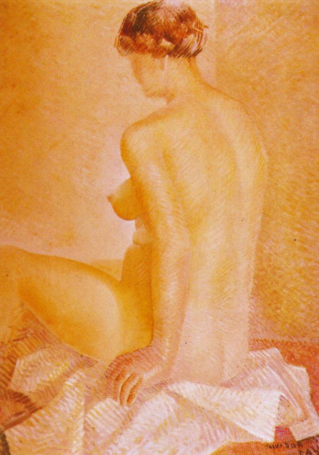 1925_18_Study of Nude, 1925