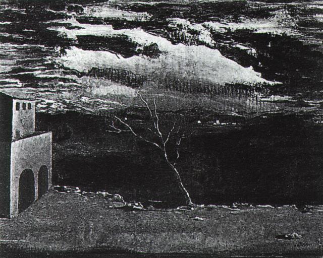 1925_26_Landscape Near Ampurdan, 1925