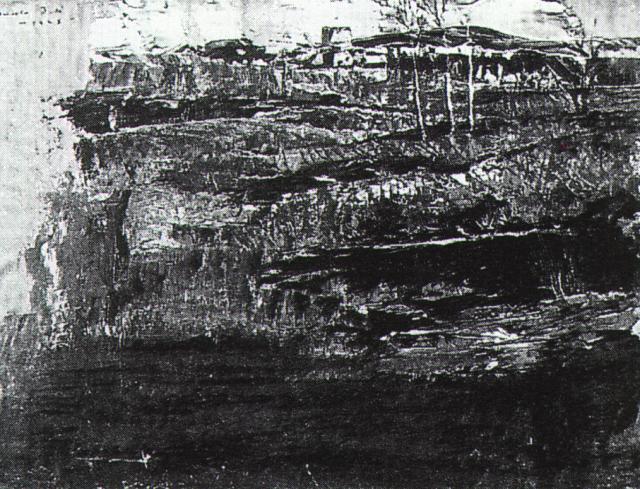 1925_27_Landscape Near Ampurdan, 1925