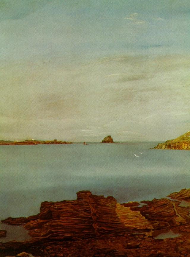1926_15_Rocks at Llane (Landscape near CadaquNs), 1926