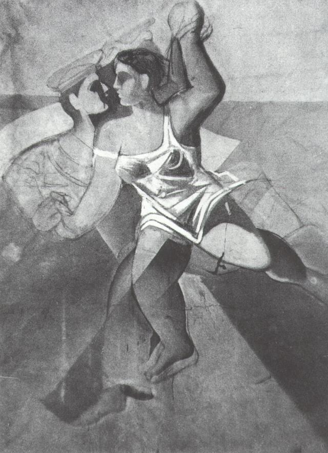 1926_20_Venus and Sailor (Girl and Sailor_ Unfinished), 1926