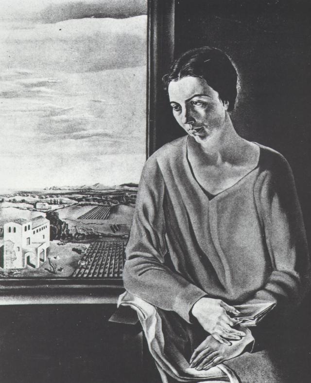 1926_23_Portrait of Sefiora Abadal De'Argemi, circa 1926