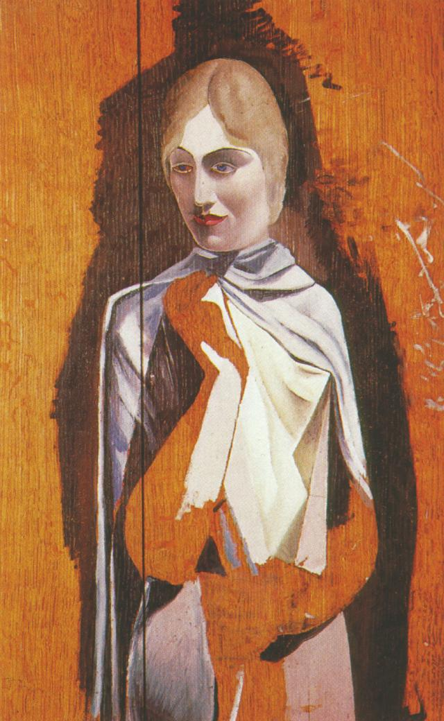 1926_24_Portrait of a Woman, (unfinished), 1926