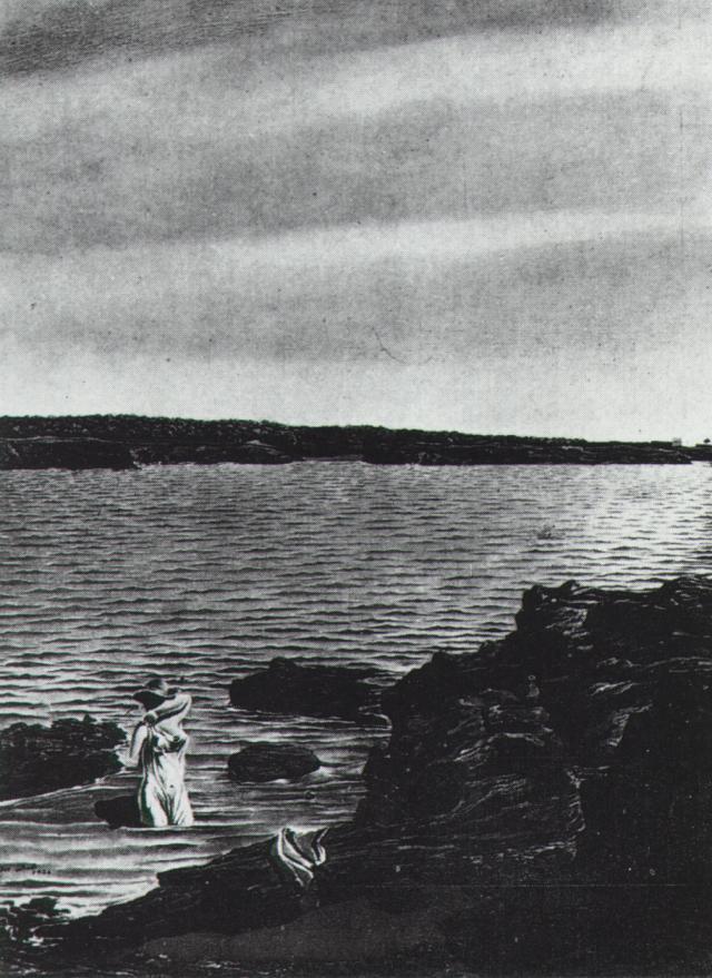 1926_33_Rocks of LlanN (first version), 1926