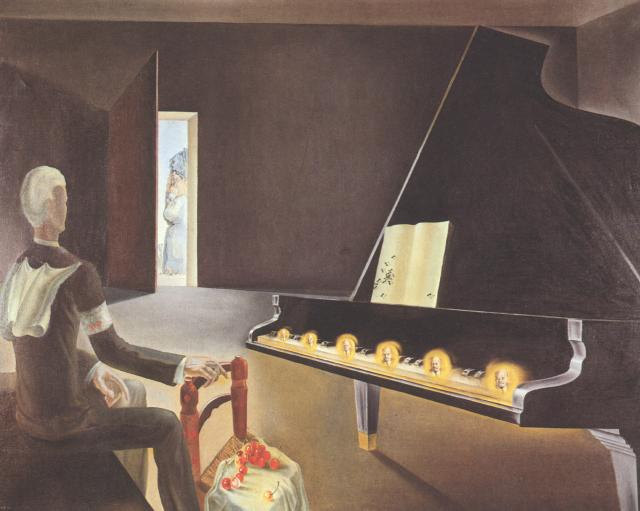 1931_05_Partial Hallucination. Six apparitions of Lenin on a Grand Piano, 1931