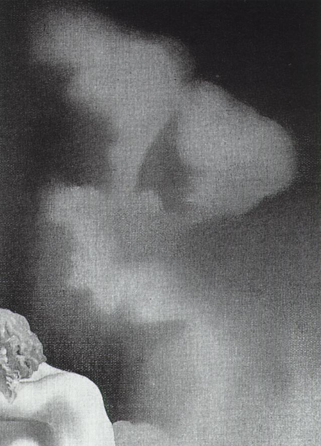 1932_38_Detail of 'Meditation on The Harp', circa 1932-34