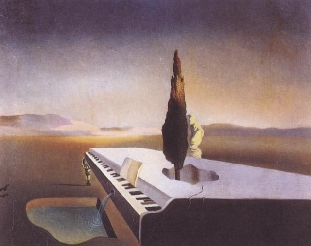 1933_11_Necrophilic Fountain Flowing from a Grand Piano, 1933