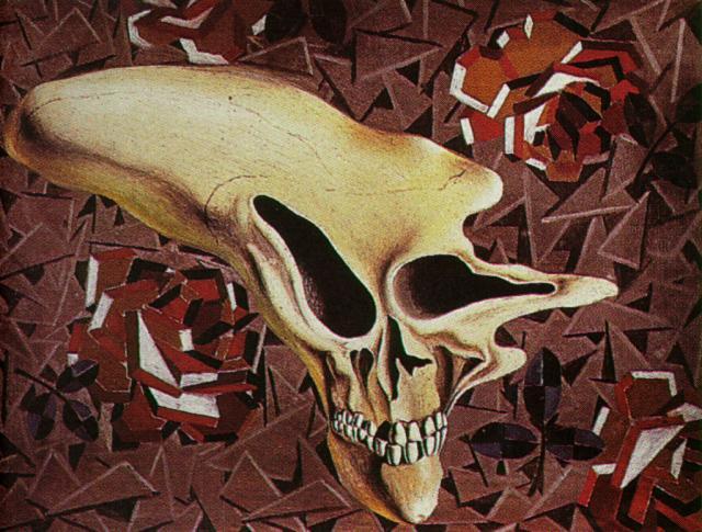 1933_28_Untitled - Death Outside the Head-Paul Eluard, circa 1933