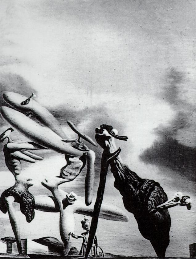 1934_33_Cannibalism of the Praying Mantis of Lautreamont, 1934