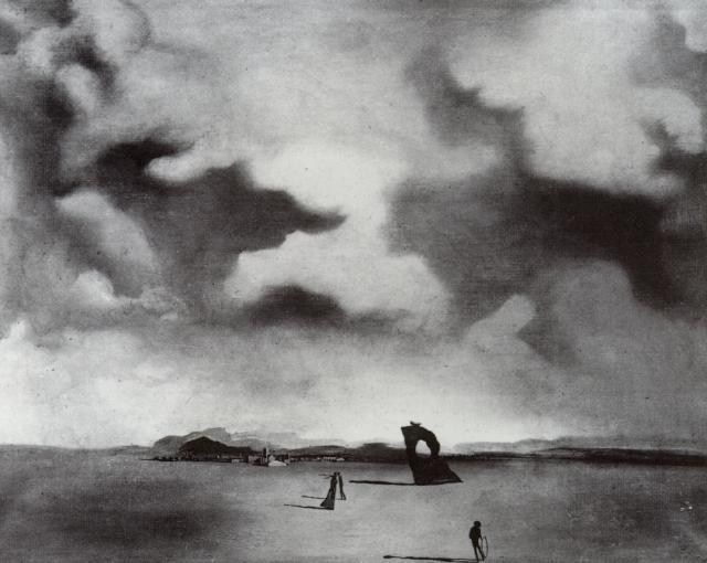 1934_46_Night Spectre on the Beach, 1934