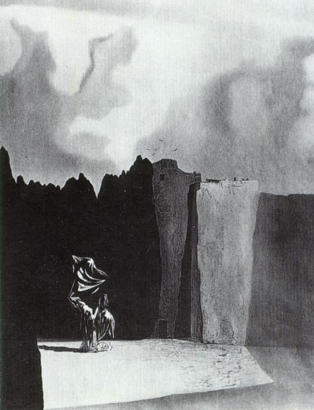 1934_63_West Side of the Isle of the Dead - Reconstructed Compulsive Image After Becklin, 1934