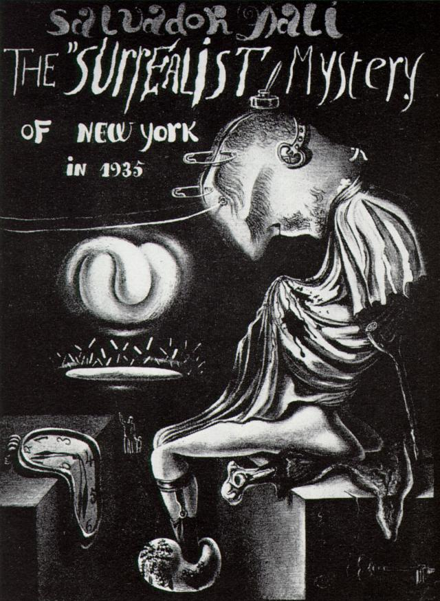 1935_17_The Surrealist Mystery of New York I, 1935