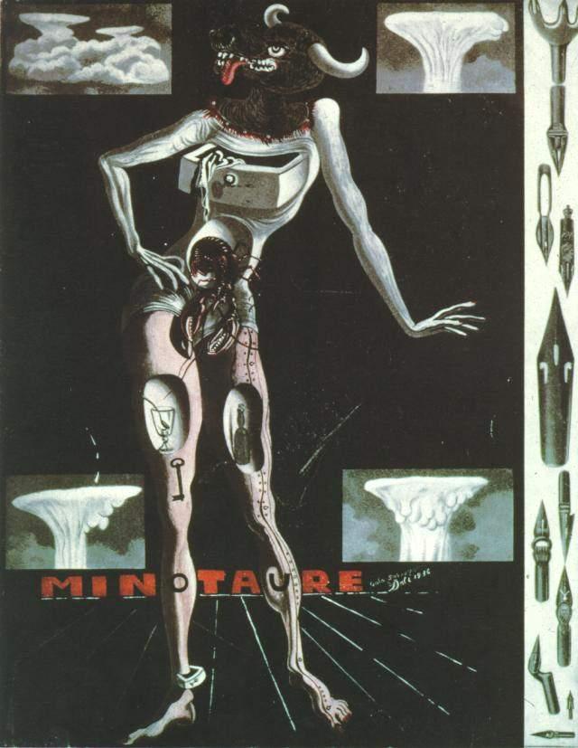 1936_16_Cover of 'Minotaure' Magazine, 1936