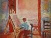 1919_02_Self-Portrait in the Studio, 1919