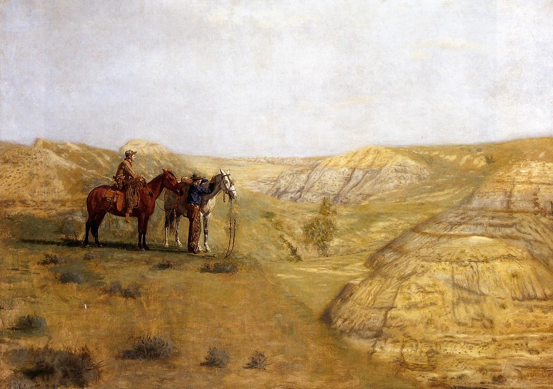 Cowboys in the Badlands