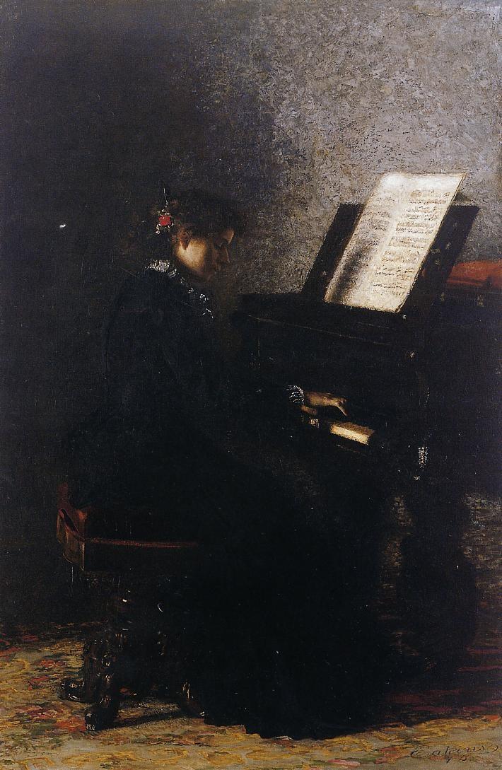 Elizabeth at the Piano