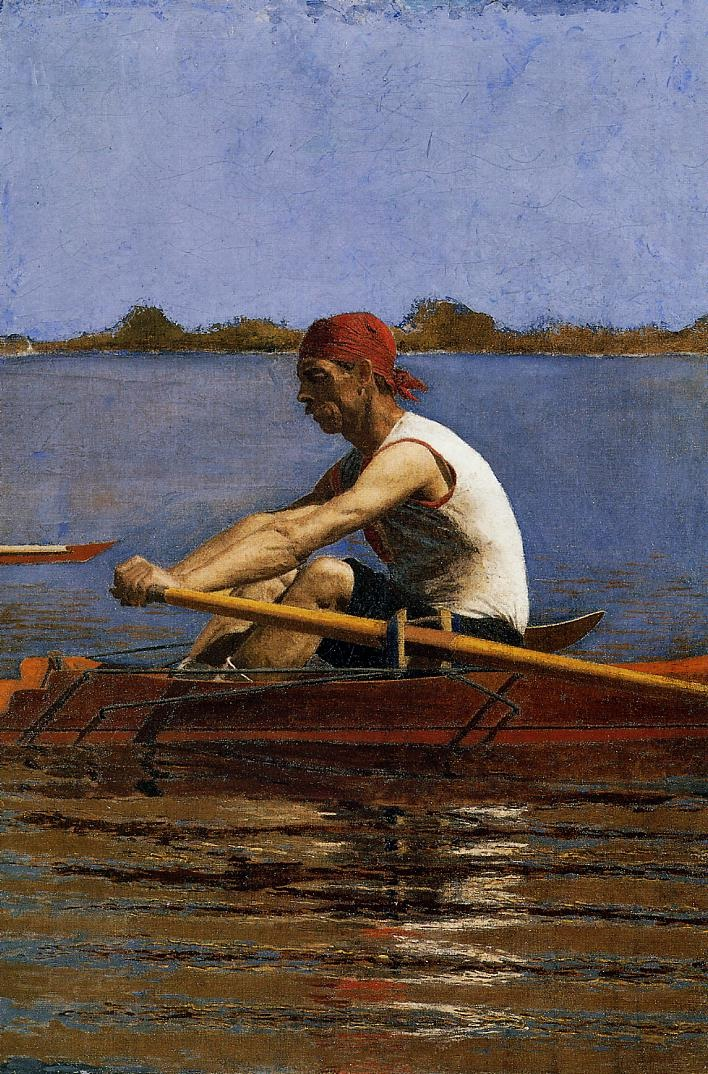 John Biglin in a Single Scull 1