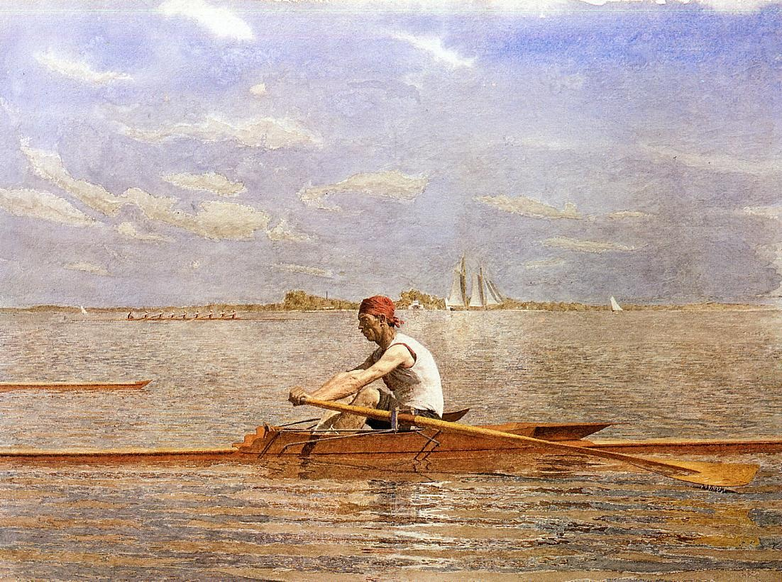John Biglin in a Single Scull 2