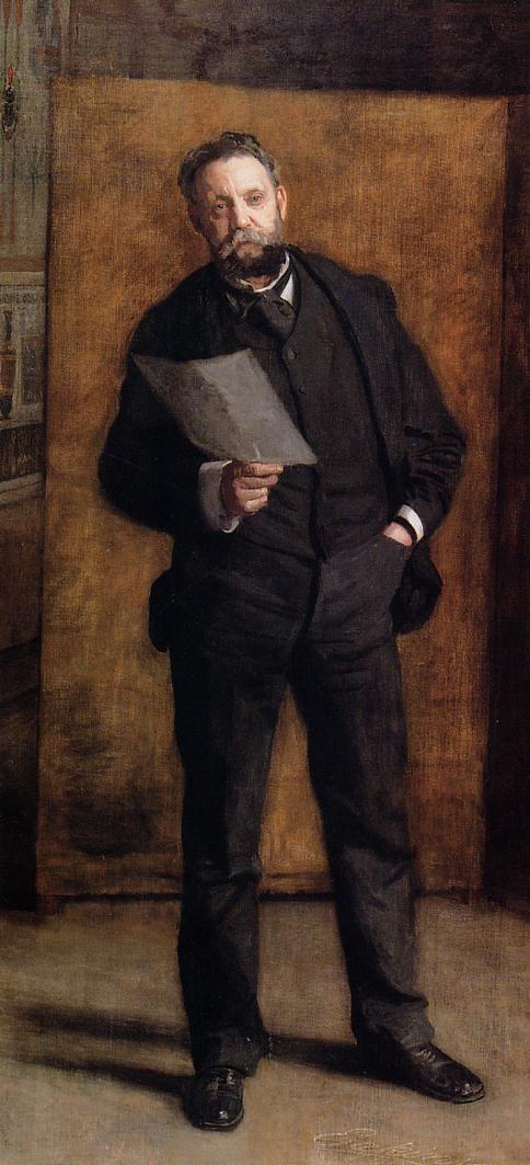 Portrait of Leslie W. Miller